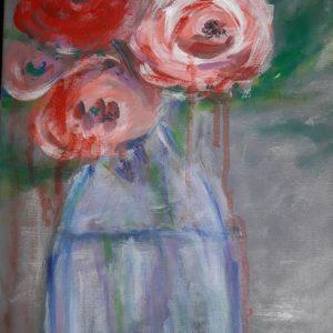 Flori in vaza